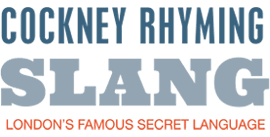 Cockney Rhyming Slang Londons Famous Secret Language Logo