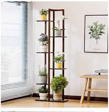 hoduxyme bambus pflanzenständer wohnzimmer balkon bambus