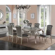 Wayfair White Dining Room Sets by Glass Rectangular Kitchen U0026 Dining Room Sets You U0027ll Love Wayfair