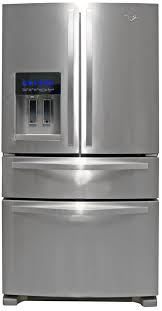 Whirlpool Ice Maker Leaking Water On Floor by Whirlpool Wrx735sdbm Refrigerator Review Reviewed Com Refrigerators
