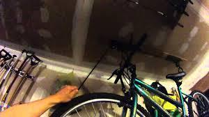 Racor Ceiling Mount Bike Lift by Bike Hoist Install Youtube