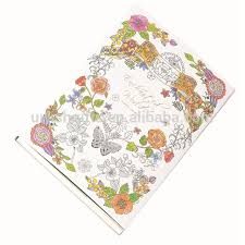 Popular Custom Design Picture Coloring Books Material Paper With Print On Demand