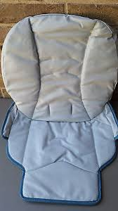 blue seat pad graco blossom 4 in 1 high chair body support new