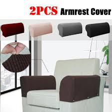 2PCS Stretch Fabric Armrest Covers Sofa Armchair Slipcovers Couch ... Interior Dark Brown Fabric Sure Fit Ding Room Chair Epbot How I Made My First Slipcovers With No Pattern Slip Covers Lioncrowcabins Ideas For Choosing Sofa Or Alversons And Fniture Amazoncom Spandex Removable Universal Parsons Chair Slipcover Tutorial How To Make A Parsons Bedroom Astonishing Wing Recliner Slipcover Elegant Home Diy Ding Covers Fun Cover Fresh Folding Reviews Wayfair Upholstery Patterns Agreeable Barn Trends Blue French Cedar Hill Farmhouse