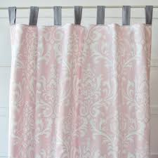 Pink Ruffled Window Curtains by Pink And White Curtains Ideas Windows U0026 Curtains