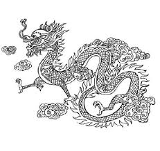 Printable Chinese Dragon Coloring Pages Throughout