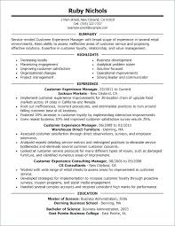 A Good Resume For Retail Job And Examples Management Of Resumes