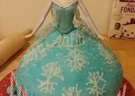 Taisen s Frozen Elsa cake