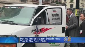 Police Investigate Suspicious Truck On East Side « CBS New York Is Uhaul Truck Rental The Most Trending Thing Webtruck Moving Company Vs Companies Like On Vimeo Uhaul Best Oneway Rentals For Your Next Move Movingcom Inrested In Starting Your Own Food Truck Business Let New York July 6 Parked On July 2013 In New Drivers Hire We Drive Anywhere The Gunshot Victim Capes Moving Ny Inrstate Then Gets Hit Rental Trucks And Trailer Stock Video Footage