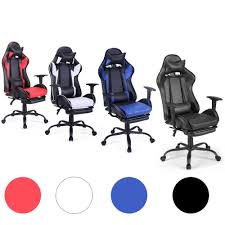 Racing Gaming Chair Ergonomic High Back Office Chair Swivel PC W ... Racing Gaming Chair Black And White Moustache Executive Swivel Leather Highback Computer Pc Office The 14 Best Chairs Of 2019 Gear Patrol Pc 2018 Amazon A Full Review 10 Of Ficmax Ergonomic Style Highback Replica Grant Featherston Contour Lounge Chair Ebarza Mdkstorehome Chair Desk Under 200 Rlgear Most Popular Comfortable