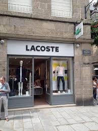 siege social lacoste lacoste boutique 14 r broussais 35400 malo adresse