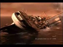 hmhs britannic sinking youtube