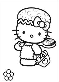 Hello Kitty Happy Halloween Coloring Pages by Coloring Pictures Pages Com