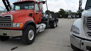 Roll Off Trucks For Sale In Houston, Texas. - YouTube