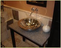 Home Depot Vessel Sink Stand by Marvelous Design For Granite Vessel Sink Ideas Granite Bathroom