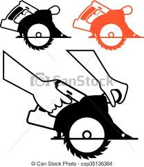 Circular Saw Single Color Icon Clip Art Vector Search Drawings And Rh Canstockphoto Com