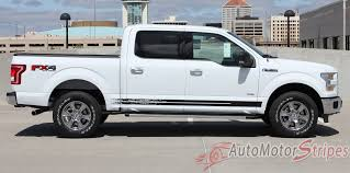 100 Truck Decals And Graphics 20152019 Ford F150 Rocker Stripes Breakup Vinyl 3M