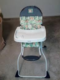 Cosco Flat Fold High Chair by Cosco Flat Fold High Chair Born To Be Wild Walmart Com