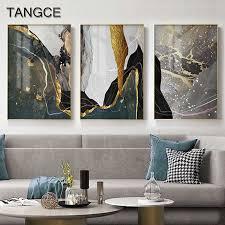 abstrakte goldene schwarz marmor textur nordic landschaft