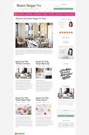 100 Modern Design Blog Ger Pro WordPress Theme