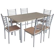 chaise de cuisine table de cuisine salle à manger 6 chaises ella achat vente