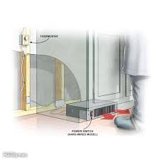 Easy Heat Warm Tiles Thermostat by 16 Ways To Warm Up A Cold Room Family Handyman