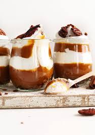 Easy Pumpkin Desserts pumpkin pie parfaits minimalist baker recipes