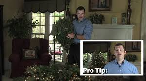 Fortunoff Christmas Trees 2015 by Troubleshooting Tips For Artificial Christmas Trees Youtube