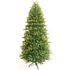 Slim Pre Lit Artificial Christmas Trees by Ge 01778 7 5 Ft Clear Pre Lit Just Cut Natural Frasier Fir