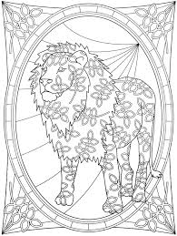 SPARK Wildlife Designs Coloring Book 5 Sample Pages