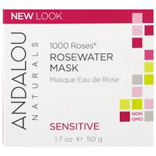Andalou Naturals Glycolic Mask Pumpkin Honey by Andalou Naturals 1000 Roses Rosewater Mask Sensitive 1 7 Oz