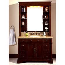 lanza single sink bathroom vanity with granite countertop and