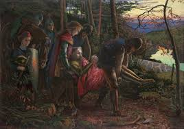 Arthur Hughes The Knight Of Sun 1860 61 Watercolour