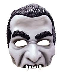 Halloween Half Masks by Dracula Half Face Mask Vampire Horror Halloween Fancy Dress