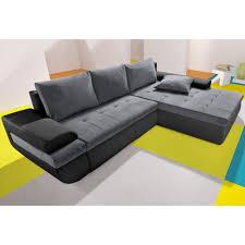 canapé d angle de qualité canapé d angle meridienne droite et convertible en tissu et