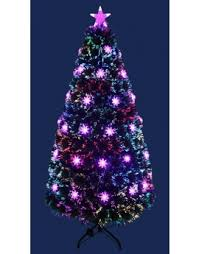 The 6ft Red Blue Colour Burst Fibre Optic Tree