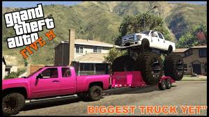 100 Biggest Truck Ever GTA 5 ROLEPLAY BUYING THE BIGGEST TRUCK EVER EP 189 CIV YouTube