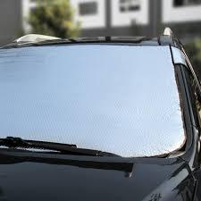 100 Truck Windshield Visor 1pc Silver Foils Window Sun Shade Plate 14292 Cm Car