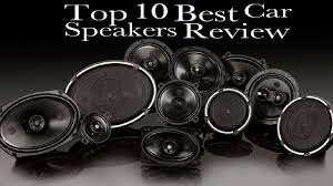 The 10 Best Car Speakers Review (NOV. 2018) - Guide | SpearGearStore