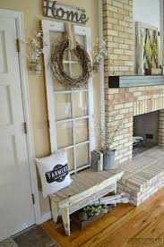Primitive Decorating Ideas For Fireplace by Best 25 Old Door Decor Ideas On Pinterest Door Picture Frame