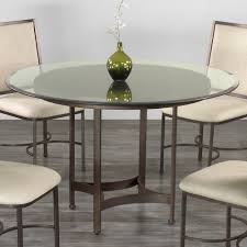 Tucson Round Glass Dining Table By Wesley Allen
