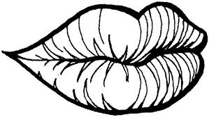 Lips Human Body Parts Coloring PagesFree Pages For Kids