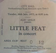 Little Feat Fat Man In The Bathtub by Little Feat Newcastle City Hall 1977 Vintagerock U0027s Weblog
