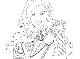 Willpower Descendants 2 Coloring Pages At GetColorings Com Free Printable