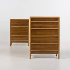 mid century walnut dresser by john widdicomb c1960 mid century