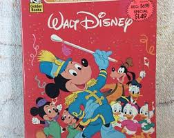 BLACK FRIDAY Vintage 80s Or 90s Disney Coloring Book Jumbo Kids Colouring Mickey Mouse