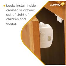 Child Proof Locks For Lazy Susan Cabinets by Safety 1st Magnetic Locking System Safety 1st Babies