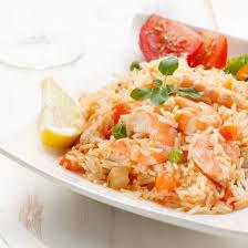 cuisine salade de riz recette salade de riz aux crevettes facile