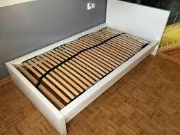 ikea malm bett 100x200 bettgestell schlafzimmer