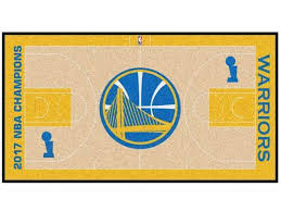 Golden State Warriors 2017 NBA Finals Champions Court Runner